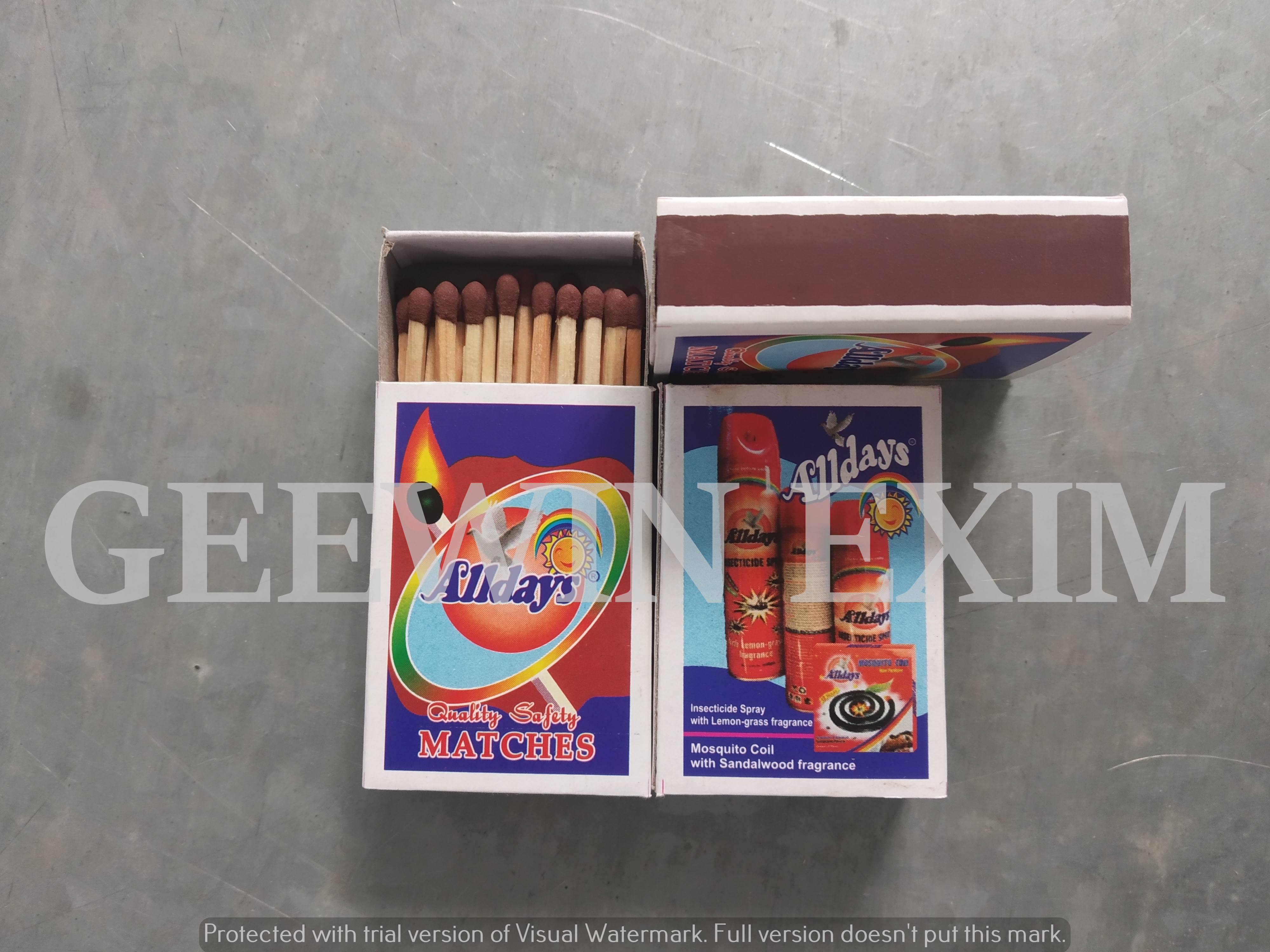 Safety Matches 11